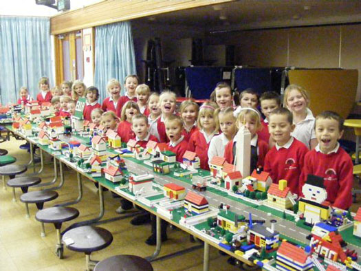 Classroom photo of our Technology Town Building Workshop for Primary Schools